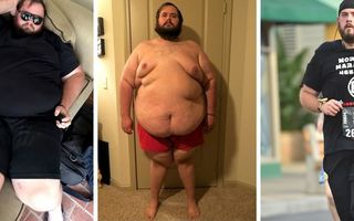 """Transformarea formidabilă a unui tânăr obez pe care alergarea l-a salvat de la moarte: """"La 200 de kilograme mi-am dat seama că aveam nevoie de ceva"""""""
