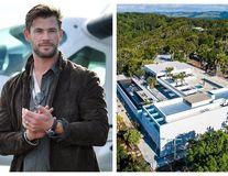 """Acasă la Chris Hemsworth: Starul din """"Thor"""" și-a construit o vilă cât un mall, cu o valoare de 20 de milioane de dolari"""