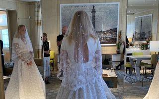 Regina Nordului: Rochia superbă de mireasă purtată de Sophie Turner la nunta cu Joe Jonas