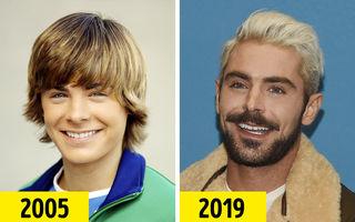 15 bărbaţi celebri care au îmbătrânit frumos