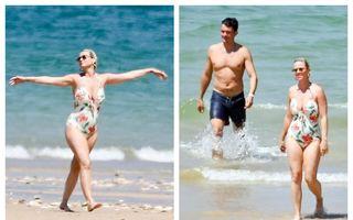 Vacanță de vedete: Katy Perry și Orlando Bloom, la plajă pe o insulă splendidă din Franța - FOTO