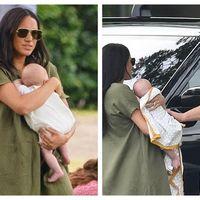 Meghan Markle, facuta de ras pe Instagram dupa prima apariție publica cu bebelusul Archie: Nu stie sa-si țina copilul
