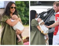 """Meghan Markle, făcută de râs pe Instagram după prima apariție publică cu bebelușul Archie: """"Nu știe să-și țină copilul"""""""