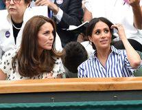 Ducesele vin la Wimbledon: Meghan Markle și Kate Middleton o susțin pe Serena Williams în finala cu Simona Halep