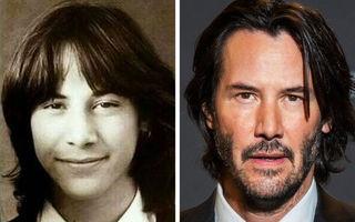 Cum arătau 20 de vedete în timpul școlii: Keanu Reeves era un puști adorabil