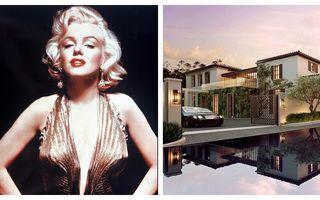 Casa ca în filme a legendarei Marilyn Monroe: Lux, clasă și rafinament!
