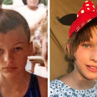 Inapoi in viitor: 12 imagini cu vedetele si copiii lor, facute la aceeasi varsta