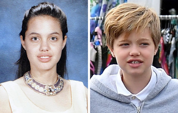 Angelina Jolie și Shiloh Jolie-Pitt