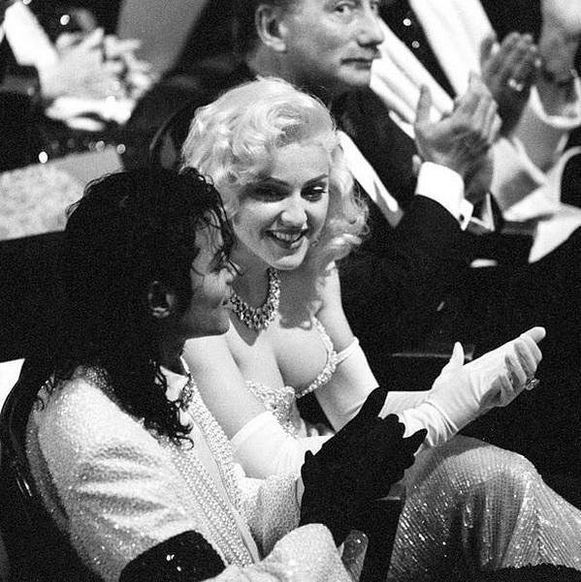 Michael Jackson și Madonna la gala Oscar, 1991