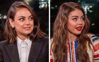 24 de vedete care seamănă ca frații: Mila Kunis și-a găsit sosia!