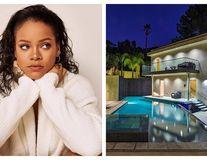 Acasă la Rihanna: Cât costă chiria în vila superbă pe care vedeta o are la Hollywood