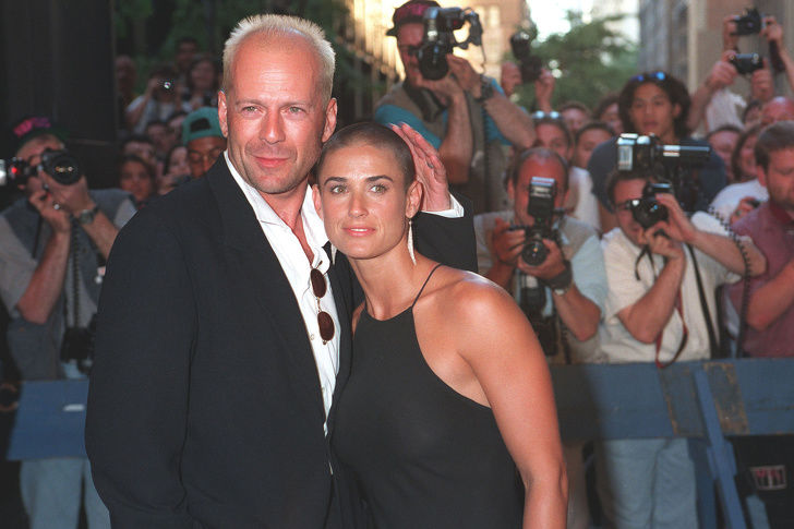 Bruce Willis și Demi Moore