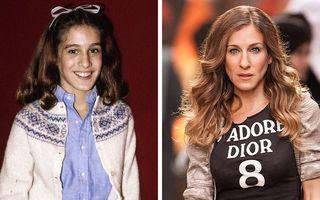 18 vedete așa cum nu le-ai mai văzut: Sarah Jessica Parker, ce schimbare!
