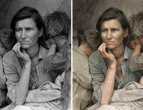 38 de imagini alb-negru transformate în fotografii color: Trecutul prinde viață!