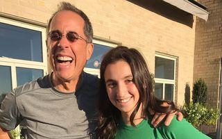 Jerry Seinfeld are cu ce se mândri: Cum arată fiica de 18 ani a starului