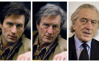 14 actori care au îmbătrânit altfel pe FaceApp: Robert De Niro e complet diferit