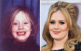 7 femei celebre care n-au fost frumoase în copilărie: Adele era rățușca cea urâtă
