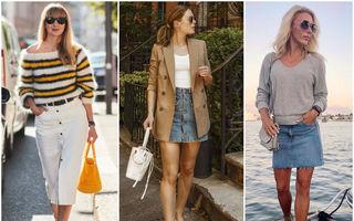 Cum să porți fusta de blugi în toamna 2019. 20 de ținute