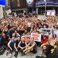300 de dansatori au exersat în Time Square după ce Prințul George a fost ridiculizat pentru că face balet