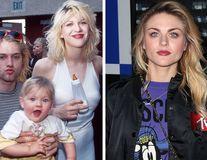 17 copii de vedete care au crescut frumos: Fiica lui Kurt Cobain, de la biberon la modelul cu ochi superbi