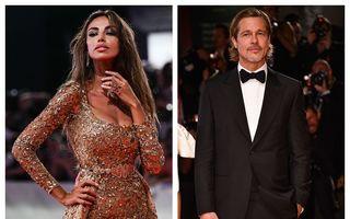 Mădălina Ghenea, apariție strălucitoare pe covorul roșu la Veneția, alături de Brad Pitt