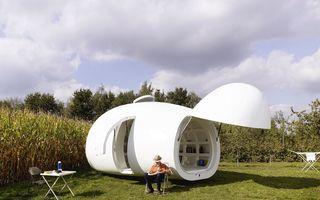 Casa ca un ou: Are tot ce-ți trebuie în 20 de metri pătrați!