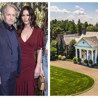22 de camere, 7 seminee si piscina acoperita: Cum arata casa de vis pe care Michael Douglas si Catherine Zeta Jones au dat 4,5 milioane de dolari
