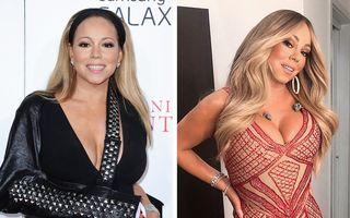 """15 cântărețe celebre care s-au schimbat mult: Mariah Carey a umblat la """"design"""""""