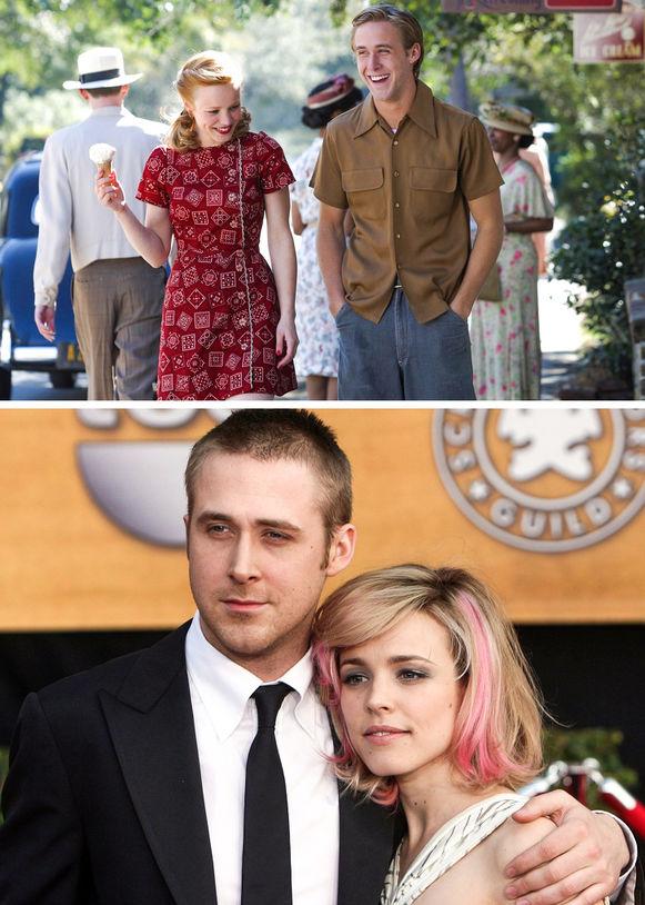 Ryan Gosling și Rachel McAdams