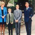 Poza care l-a enervat pe Prințul William când era adolescent: Toată clasa a râs de el când imaginea topless cu Prințesa Diana a apărut în ziar