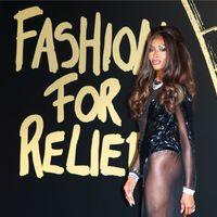 La 49 de ani, Naomi Campbell e la fel de sexy ca la 20: A aratat impecabil intr-o rochie transparenta la Gala Fashion for Relief