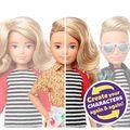 Barbie a lansat păpușa fără gen. Nu este nici fată, nici băiat
