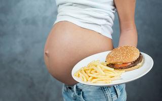 Ce efecte are consumul excesiv de grăsimi în timpul sarcinii?