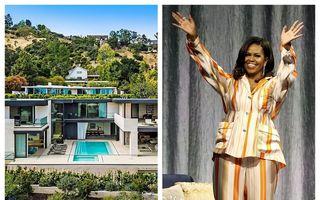Casa pe care Michelle Obama a închiriat-o în Los Angeles fără să plătească: Cum arată camera cu perete viu și acvariu cu rechini în loc de podea