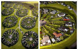"""Cartierul în cercuri din Danemarca: Oamenii fug de oraș și vor o """"felie"""" verde"""