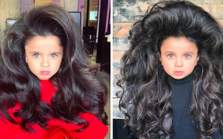23 de oameni cu cele mai originale coafuri: Așa arată părul lor natural