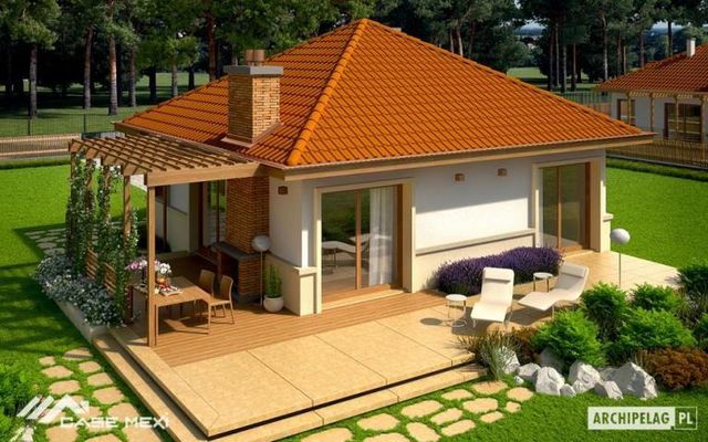 Proiecte de case sub 35.000 euro. Case spatioase la pret de garsoniera