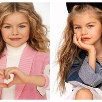 Cea mai frumoasa fetița din lume: Papusa blonda si cu ochi albastri care a cucerit lumea cu frumusețea ei