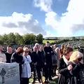 Ultima farsă: Ce mesaj a înregistrat un bunic pentru ziua înmormântării sale. A transformat plânsul în râs