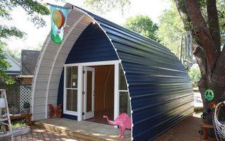 Căsuțele arcuite – locuințe moderne la 5.000 de dolari