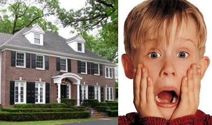 """Cum arată astăzi casa în care s-a filmat celebra comedie """"Singur acasă"""""""