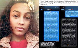 Povestea tinerei care i-a trimis în fiecare zi un SMS tatălui ei decedat: După 4 ani i-a răspuns un bărbat care își pierduse fiica într-un accident
