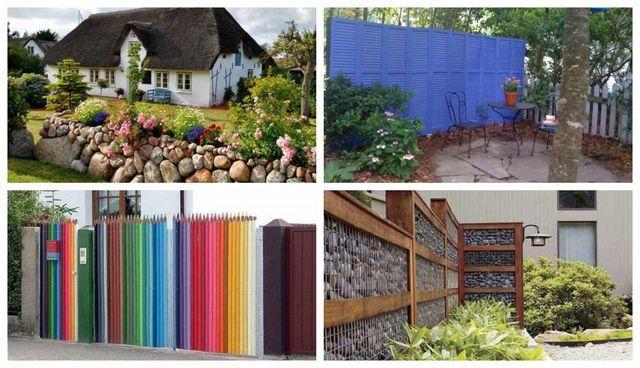 Modele de garduri pentru curti si gradini: 15 exemple care atrag toate privirile