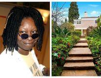 Cât costă o casă de vedetă: Whoopi Goldberg își vinde vila cu piscină, bar în pivniță și grădină ca-n Rai