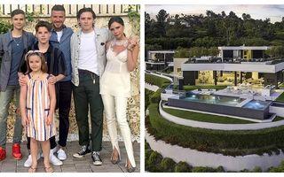 Viață de vedetă: Cum arată vila pe care familia Beckham a închiriat-o cu 25.000 de dolari pe lună