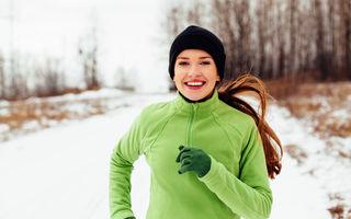 4 reguli de urmat când alergi iarna