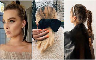 Coafuri simple cu părul prins inspirate de pe Instagram