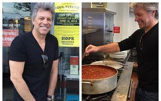Jon Bon Jovi, mai mult OM decât star: Cum arată meniul în restaurantele sale, unde nevoiașii mânâncă gratis