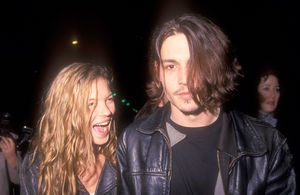 Kate Moss, Johnny Depp