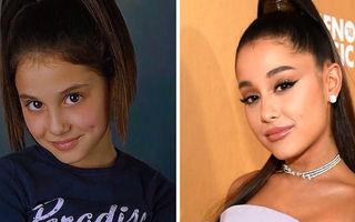 Cum arătau 16 vedete din lumea muzicii la începutul carierei: Ariana Grande era un copil